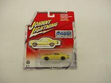 1/64th 1969 Dodge Super Bee 440 yellow Johnny Lightning #40 Mopar no car Series