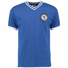 8 camisetas de fútbol azul