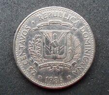 Dominican Republic - 25 CENTAVOS  REPUBLICA DOMINICANA 1986