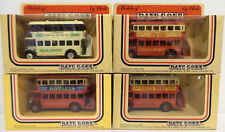 BUSES :  SET OF 4 DOUBLE DECKER BUSES MADE BY LLEDO - DAYS GONE SERIES (DT) 117
