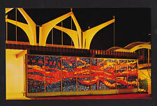 1962 stained glass Christian Pavilion Seattle World's Fair exposition postcard