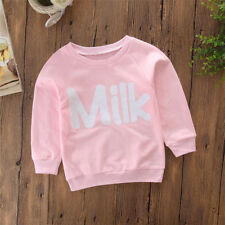 Mom&Baby Women Kids Long Sleeve Blouse Sweatershirt Pullover Tops Family Clothes