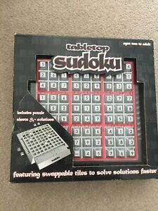 Tabletop Sudoku Puzzle