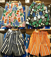 NWT UNIQLO x MARIMEKKO 2020 Women Cotton Poplin Shorts Pants