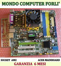 SCHEDA MADRE SOCKET AM2 ACER ASPIRE + CPU ATHLON DUAL CORE 4400 + MASCHERINA