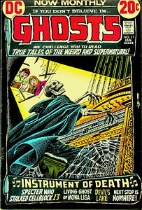 Ghosts #11 (Jan 1973, DC) - Fine/Very Fine