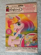 Colorforms Unicorn Sticker Story Adventure - Over 40 Colorforms! - NEW!