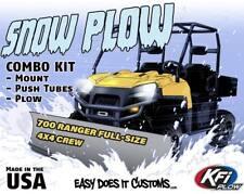 "POLARIS 700 RANGER FULL-SIZE 4X4 CREW 08-09  - KFI UTV 72"" Snow Plow Combo Kit"