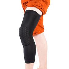 Padded KneePad Honeycomb Crashproof Long Sleeve Knee Protector Gear - ExtraLarge