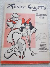 Xavier Cugat 14 Selected Hits Perfidia Others Voice Piano Unmarked