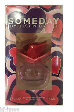 SOMEDAY by JUSTIN BIEBER EAU DE PARFUM EDP 30ml  2x 15ML NEU & OVP IN FOLIE