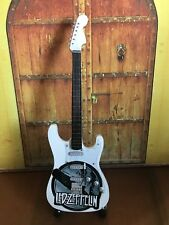 Led Zeppelin - Miniature Electric Guitar - For Display Only