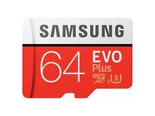 Samsung 64GB EVO plus 100MB/s MicroSD SDXC UHS-I Class 10 Memory Card
