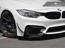 AUTOTECKNIC COMPETITION CARBON FIBER FRONT BUMPER TRIM - BMW F80 M3 F82 F83 M4