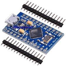 ATmega32u4 Micro Pro 5V Mini Leonardo Board Modul + Pin-Header für Arduino