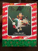 "Enesco Treasury of Christmas Ornaments Mcdonalds Collection ""Tasty Take-off"""