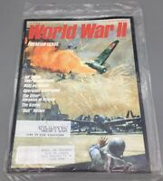 World War II Magazine Premier Issue May 1986, V. 1 #1 Sealed New Condition - D07