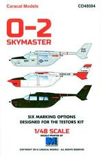 Caracal Decals 1/48 Cessna O-2 Skymaster Observation Aircraft