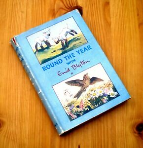 Round the Year with Enid Blyton (Library edition with four seasons) 1st ed