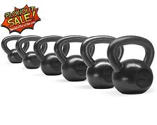 Kettlebell 5+10+15+20+25+30 lbs Set  Hand Weight Fitness Body Gym - ²KGMOC