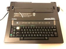 Brother Compactronic 300M Electronic Typewriter Machine W/ Carrying Handle & Lid