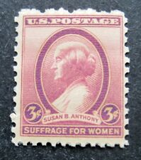 Sc # 784 ~ 3 cent Susan B. Anthony Issue