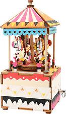 Bausatz Spieluhr Pferdchen DIY Pferd Karussel Melodie Musik Uhr small foot