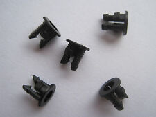 100pcs 3mm Black Plastic LED Bezel Clip Holder Holders Cup Mounting (Push Fit)