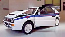 1:24 Scale Lancia Delta HF 16v Integrale Martini EVO 2 Detailed Diecast Model