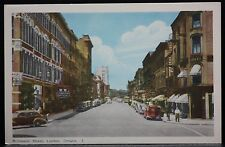 "LONODON, ONT. ""RICHMOND STREET, LONDON, ONTARIO, CANADA #7"" -Automobiles- c1930"
