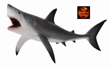 CollectA Great White Shark Open Jaw Sealife Toy Model Figure 88729 Brand New