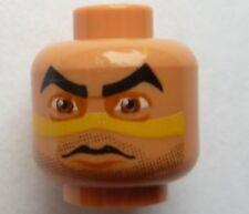 LEGO Star Wars - Minifig, Head Alien with Quinlan Vos Pattern - Flesh