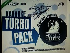 Zoom Karaoke CDG tous les hommes hits Turbo Pack 221 top pistes sur 10 disques nouveau