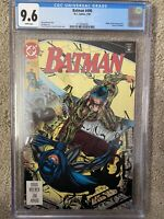 BATMAN #490 NM+ CGC Azrael as Batman w/ Riddler & Bane appearances 🔥