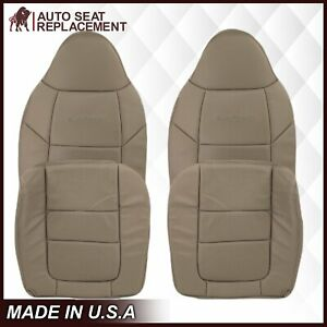 2001 Ford F250 F350 F450 F550 Lariat Super Duty Replacement Seat Cover in Tan