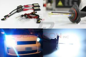 H10/9145 8000K Bluish White 35W Slim DC Ballast HID Conversion Kit Xenon Bulb