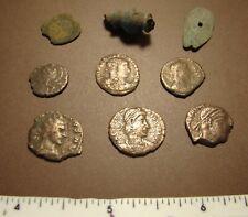 Lot Ancient Roman Empire coins relics artifacts !