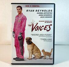 2014 Horror/Thriller The Voices Ryan Reynolds Gemma Arterton  Anna Kendrick!!!