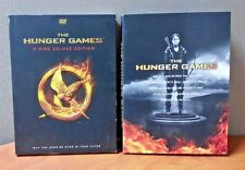 The Hunger Games    3 Disc-Deluxe Edition DVD  w/Slipcover   LIKE NEW