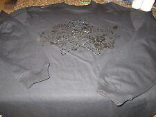 "Akademics Long Sleeved Shirt - Black - XL - ""State of Jeanius"" Raised Logo"