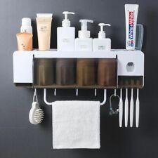 Toothbrush Holder Toothpaste Dispenser Sets Household Bathroom Storage Box Case