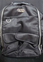 READ DESCP Itzy Ritzy Boss Backpack Diaper Bag Backpack in Black Herringbone