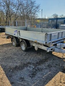 Ifor williams tipping trailer 12x6 No Vat