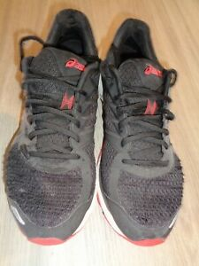 Asics Mens GT-3000 Black and Red Size UK 9.5