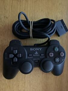 Genuine Sony Playstation 2 PS1 PS2 Analog Controller DualShock 2 Wired SCPH10010