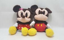 Disney Mickey and Minnie Mouse Baby Soft Teddy Plush Toys