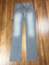 Seven 7 For All Mankind Womens Straight Leg Jeans Sz 26x33 Long