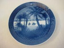 """1972 Royal Copenhagen Christmas In The Desert Plate Denmark Plate 7 1/4"""""""