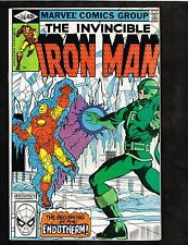 Iron Man #136 ~ 1980 vs Endotherm ~ (9.2) WH
