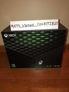 BRAND NEW Microsoft Xbox Series X 1TB Video Game Console • Black • IN-HAND